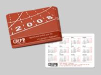 Карманный календарик CRUMB для Whitemark