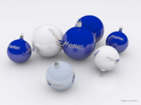 Подарочные новогодние шарики MediaProject