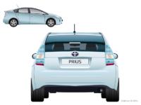 Toyota Prius для компьютерной flash-игры для Toyota