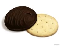 Зефир и печенька