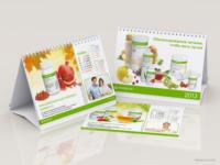 Календарь-домик Herbalife 2013.